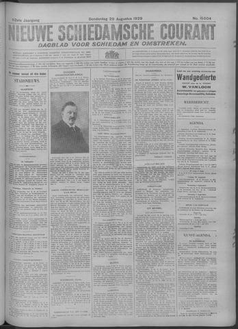 Nieuwe Schiedamsche Courant 1929-08-29