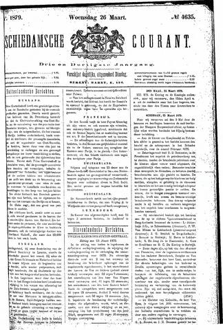 Schiedamsche Courant 1879-03-26