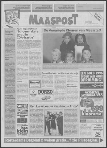 Maaspost / Maasstad / Maasstad Pers 1995-12-27