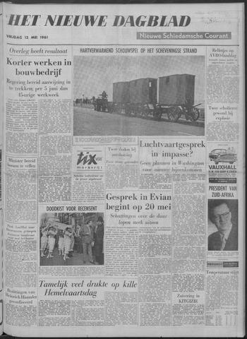Nieuwe Schiedamsche Courant 1961-05-12