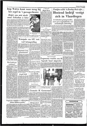 Rotterdamsch Parool / De Schiedammer 1955-06-28