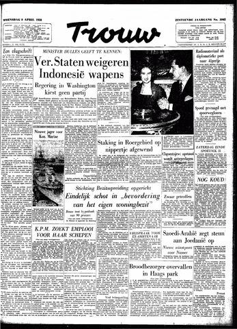 Trouw / De Rotterdammer 1958-04-09