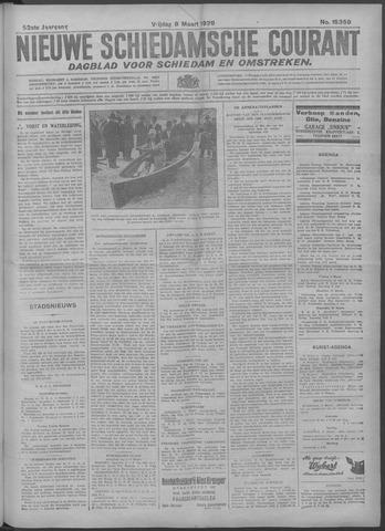 Nieuwe Schiedamsche Courant 1929-03-08