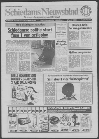Schiedams Nieuwsblad 1983-11-09
