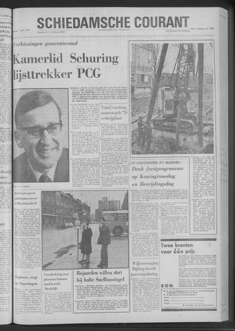 Rotterdamsch Nieuwsblad / Schiedamsche Courant / Rotterdams Dagblad / Waterweg / Algemeen Dagblad 1970-04-07