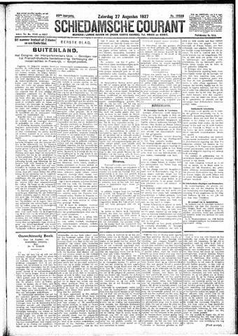 Schiedamsche Courant 1927-08-27