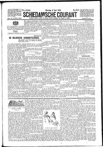 Schiedamsche Courant 1931-06-02