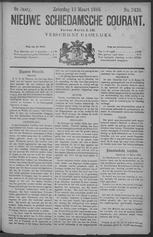 Nieuwe Schiedamsche Courant 1886-03-13