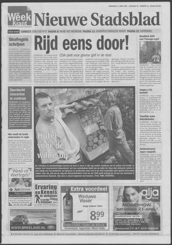Het Nieuwe Stadsblad 2007-04-11
