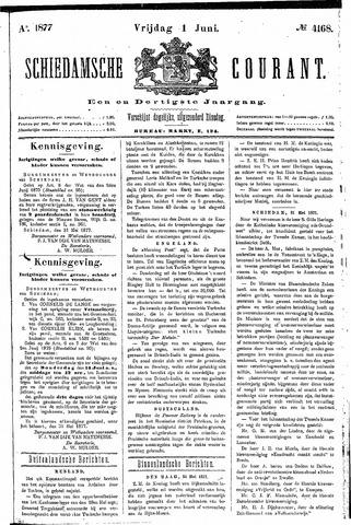 Schiedamsche Courant 1877-06-01