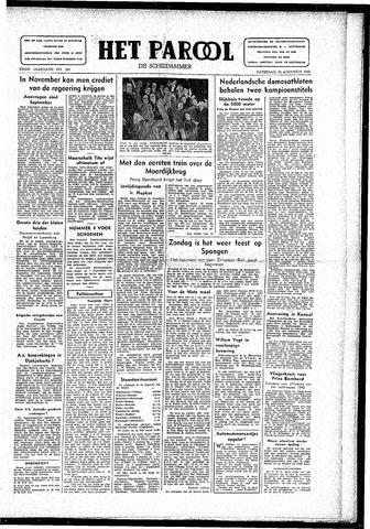 Rotterdamsch Parool / De Schiedammer 1946-08-24