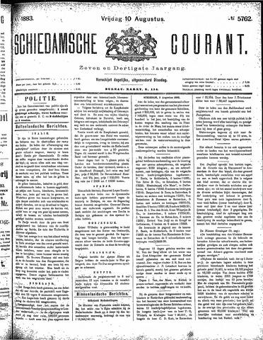 Schiedamsche Courant 1883-08-10