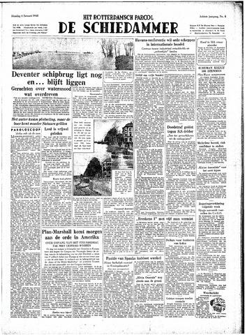 Rotterdamsch Parool / De Schiedammer 1948-01-06