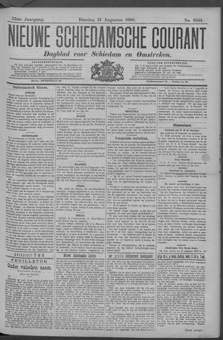 Nieuwe Schiedamsche Courant 1909-08-31