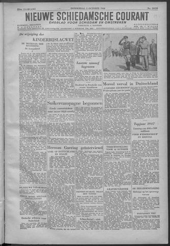 Nieuwe Schiedamsche Courant 1946-10-03