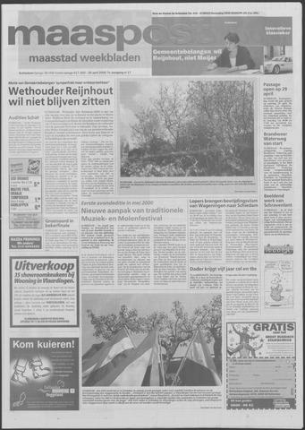 Maaspost / Maasstad / Maasstad Pers 2000-04-26