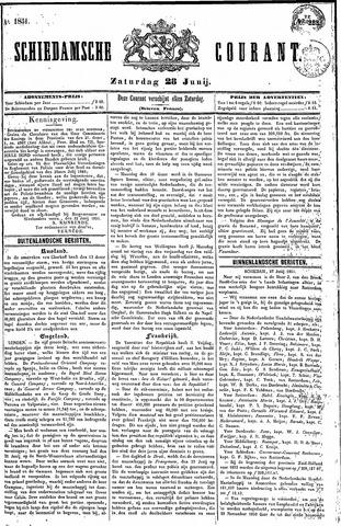 Schiedamsche Courant 1851-06-28