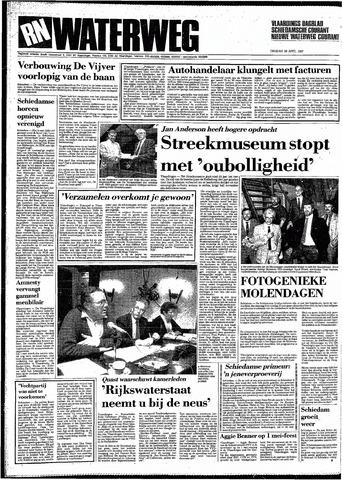 Rotterdamsch Nieuwsblad / Schiedamsche Courant / Rotterdams Dagblad / Waterweg / Algemeen Dagblad 1987-04-28