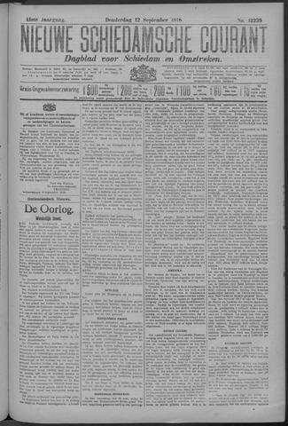 Nieuwe Schiedamsche Courant 1918-09-12