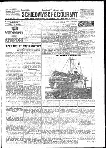 Schiedamsche Courant 1933-02-27