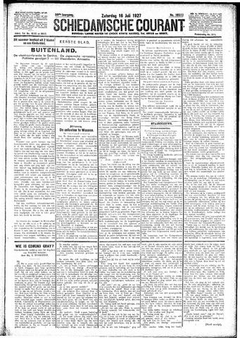 Schiedamsche Courant 1927-07-16