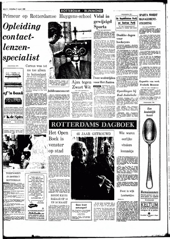 Rotterdamsch Parool / De Schiedammer 1966-03-09