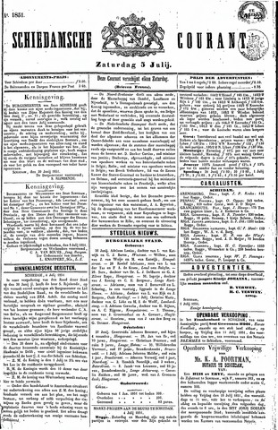Schiedamsche Courant 1851-07-05