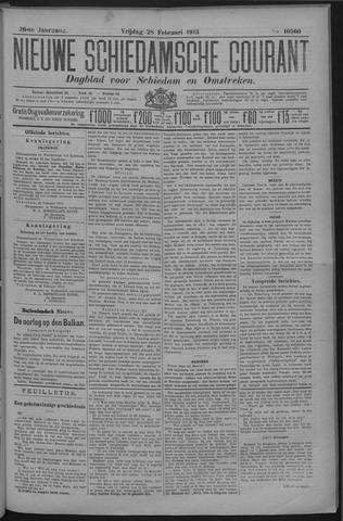 Nieuwe Schiedamsche Courant 1913-02-28