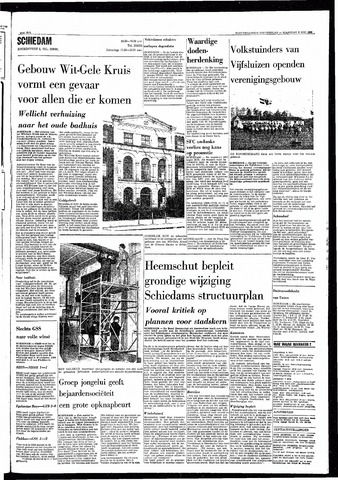 Rotterdamsch Nieuwsblad / Schiedamsche Courant / Rotterdams Dagblad / Waterweg / Algemeen Dagblad 1968-05-06