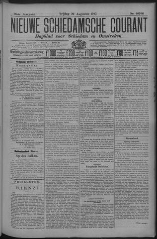 Nieuwe Schiedamsche Courant 1913-08-22