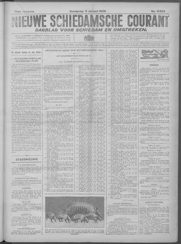 Nieuwe Schiedamsche Courant 1929-01-03