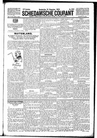 Schiedamsche Courant 1929-08-15