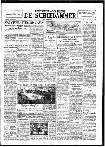 Rotterdamsch Parool / De Schiedammer 1947-07-23