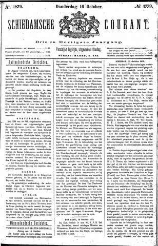 Schiedamsche Courant 1879-10-16