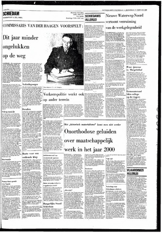 Rotterdamsch Nieuwsblad / Schiedamsche Courant / Rotterdams Dagblad / Waterweg / Algemeen Dagblad 1968-02-08