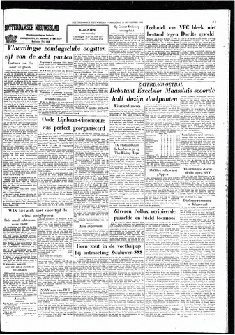 Rotterdamsch Nieuwsblad / Schiedamsche Courant / Rotterdams Dagblad / Waterweg / Algemeen Dagblad 1965-09-13