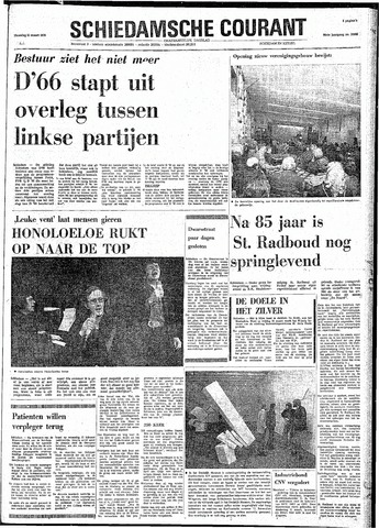 Rotterdamsch Nieuwsblad / Schiedamsche Courant / Rotterdams Dagblad / Waterweg / Algemeen Dagblad 1974-03-11