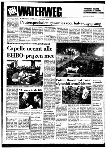 Rotterdamsch Nieuwsblad / Schiedamsche Courant / Rotterdams Dagblad / Waterweg / Algemeen Dagblad 1985-03-04