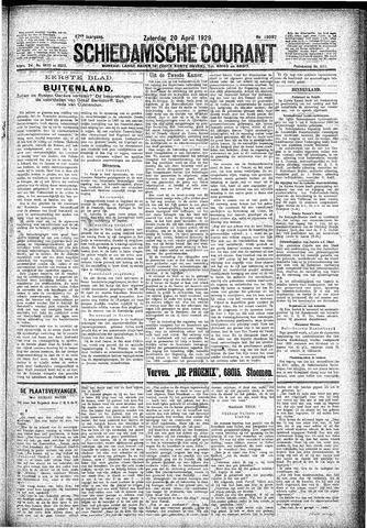 Schiedamsche Courant 1929-04-20