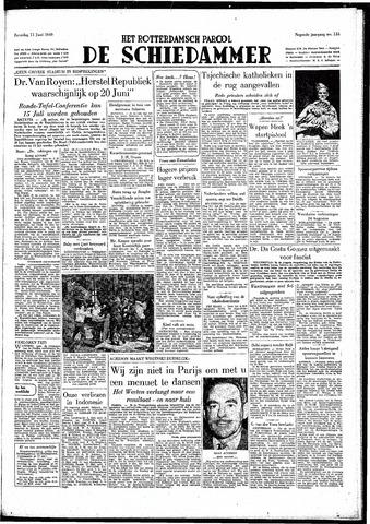 Rotterdamsch Parool / De Schiedammer 1949-06-11