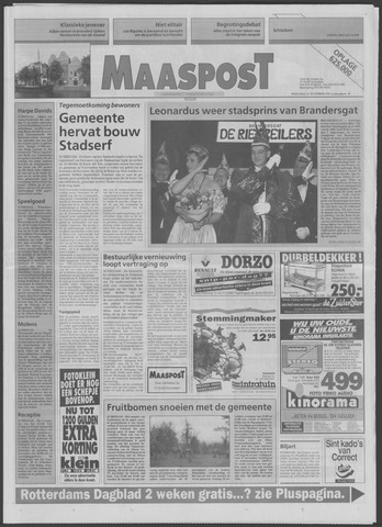 Maaspost / Maasstad / Maasstad Pers 1995-11-15