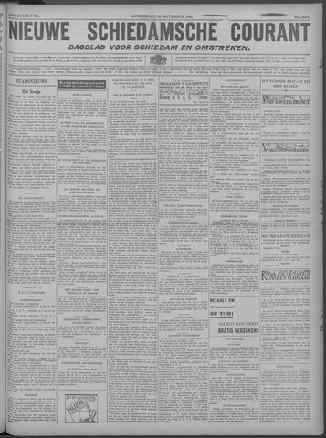 Nieuwe Schiedamsche Courant 1929-11-28