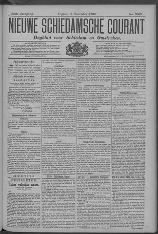 Nieuwe Schiedamsche Courant 1909-11-19