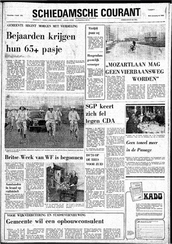 Rotterdamsch Nieuwsblad / Schiedamsche Courant / Rotterdams Dagblad / Waterweg / Algemeen Dagblad 1974-04-03