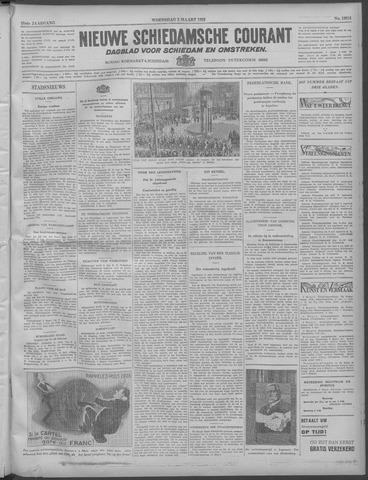 Nieuwe Schiedamsche Courant 1932-03-02