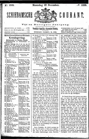 Schiedamsche Courant 1881-12-19