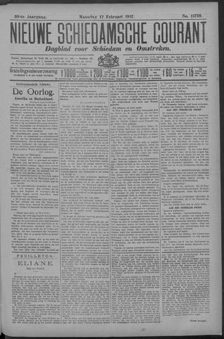 Nieuwe Schiedamsche Courant 1917-02-12