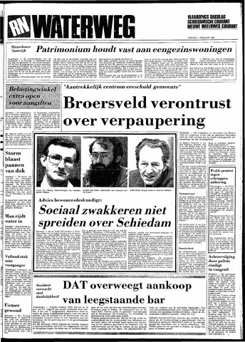 Rotterdamsch Nieuwsblad / Schiedamsche Courant / Rotterdams Dagblad / Waterweg / Algemeen Dagblad 1983-02-01