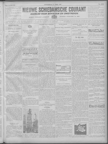 Nieuwe Schiedamsche Courant 1932-04-21
