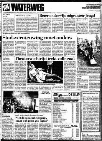 Rotterdamsch Nieuwsblad / Schiedamsche Courant / Rotterdams Dagblad / Waterweg / Algemeen Dagblad 1991-01-31
